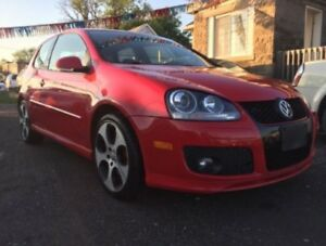 AWESOME BLOODY 2007 VOLKSWAGEN GTI 2 DOOR LIMITED