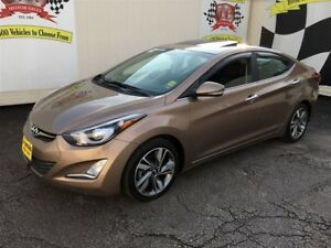 2014 Hyundai Elantra Limited, Auto, Navigation, Leather, 46,000k