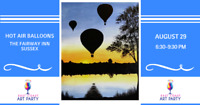 East Coast Art Party - Sussex - Hot Air Balloons
