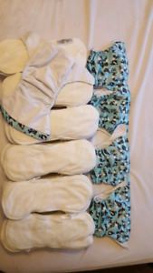 Funky Fluff Cloth Diapers and Bamboo inserts