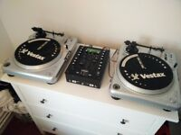 Vestax PDX-2000 record decks and mixer and amp £400 ono