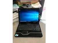 PACKARD BELL LAPTOP , DUAL CORE, 2GB RAM 250GB HDD WIN 10 ONLY £60 !!