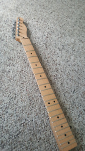 Fender telecaster replacement maple neck