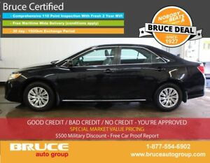 2014 Toyota Camry LE 2.5L 4 CYL AUTOMATIC FWD 4D SEDAN BLUETOOTH