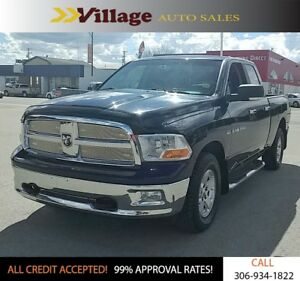 2012 RAM 1500 SLT Accident Free! Front Fog Lights, Touch Scre...