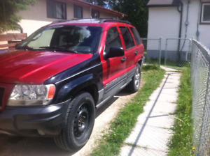 2004 Jeep Grand Cherokee. Need gone ASAP