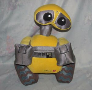 "Disney Store Exclusive Wall-E Plush Toy 14"" Tall - Stuffed"