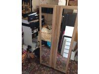 Mirror wardrobe £70