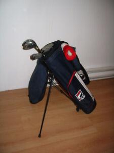 ensemble de golf Fils gaucher pour enfants