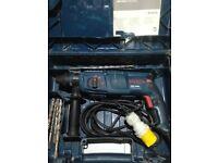 Bosch gbh 2400 110v professional hammer drill