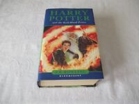 HARRY POTTER AND THE HALF-BLOOD PRINCE HARDBACK - NEW