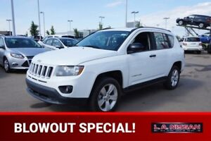 2015 Jeep Compass SPORT Accident Free,