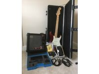 Complete Guitar Package including American Fender Stratocaster & Roland Cube 30 amp £790.00