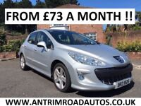 2009 PEUGEOT 308 SPORT 1.6 HDI 110 BHP ** FINANCE AVAILABLE ** ALL CARDS ACCEPTED
