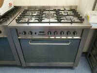 Bargain! 5 burner gas cooker with electric fan oven and grill.
