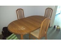 Furnitures for immediate sale ,Used Bed,Sofa, Dining table,Table,Book shelves ,Matress
