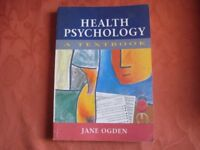 Health Psychology - A Textbbok Jane Ogden