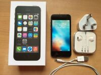 Boxed & Beautiful iPhone 5S, 16 gb, Vodafone, Black, can deliver