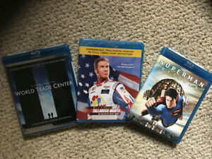 3 Blue Ray DVD Movies
