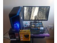 Custom Gaming PC & Monitor(IPS) & Keyboard & Mouse & Wi-fi & New parts