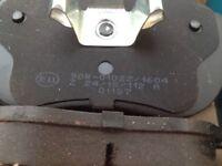 Vauxhall signum vectra v6 brake pads