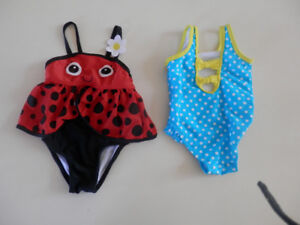 12mth girls bathing suits $5.00
