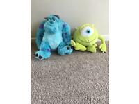 Walt Disney Monsters Inc Sully & Mikey