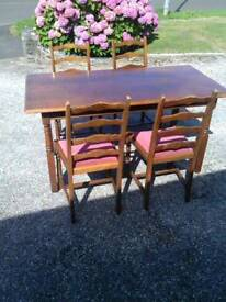 Table+4chairs