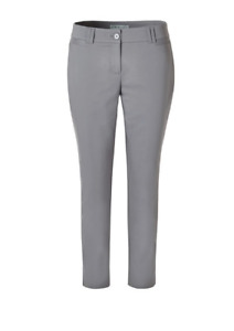 3 Pairs of Cleo Ankle Pants Size 6 (grey/black/navy)