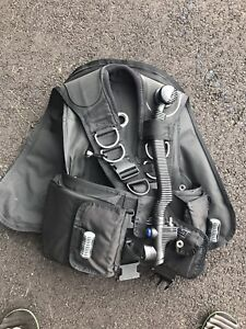 Buoyancy compensator. BC. Scuba diving equipment.