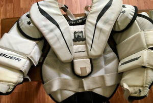 Goalie Skates US 5.5 and Youth Size L-XL Chest Protector