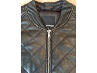 Brand new Mens leather jacket (Barneys) Size M