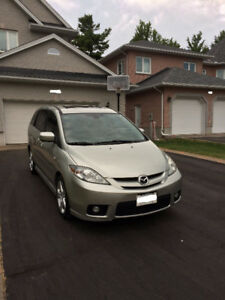 Silver Mazda 5 GT Sport,Excellent,Safety,e-Test,Low Kms,1 Owner