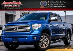 2016 Toyota Tundra Platinum|4x4|CrewMax|Nav|Sunroof|Leather|Side