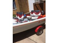Boat for sale 11ft dory with trailer and engine