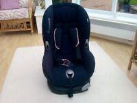 MaxiCosi Priori Car Seat. 9 - 18 Kg, plus seat protector