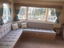 9 mths old Deluxe 3 bedroom Horizon static Caravan located in Combe Haven Park in Hastings
