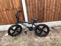 Black Zinc BMX Hardly Used -Good Condition with new brakes