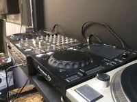 pioneer cdj / xdj 700 pair like new barely used, less than year old with carry soft cases + boxes