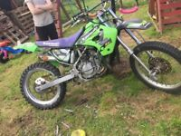 Kx100 sale or swap for smaller bike