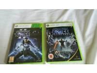 XBOX 360 Games - Star wars
