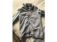 Girls moschino tracksuit age 10 very small fit
