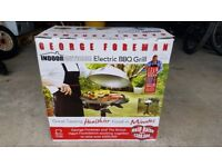 George Forman Indoor/Outdoor Electric Barbeque - as NEW !