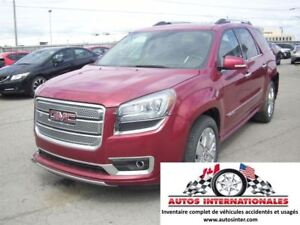 2014 GMC Acadia DENALI 4X4 V6 3.6L FULL EQUIPPE 6 PASSAGERS MAG