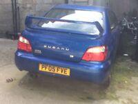 Subaru wrx project for sale or swap