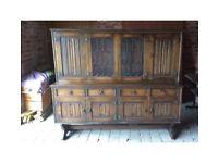 Welsh Dresser Solid Oak