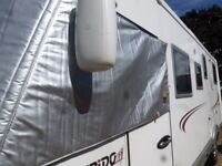 SILVER SCREEN COVER FOR MOTOR HOME IN EXCELLENT CONDITION