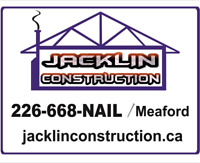 Seeking Carpenters and  Helpers for Meaford area.