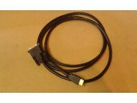 HDMI DVI cable 2m - virtually new