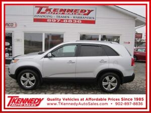 2012 KIA SORENTO EX AWD ONLY $13,988.00 EXTRA CLEAN